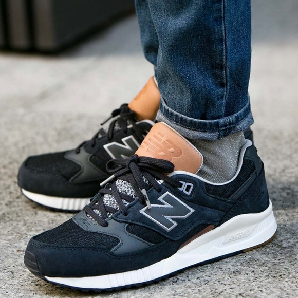 Rare New Balance Grey Pack Leather Suede Sneakers
